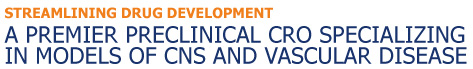 A Premier Preclinical CRO Specializing in Models of CNS and Vascular Disease